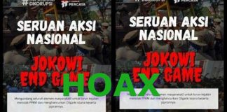 Jokowi End Game