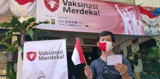 Vaksinasi Merdeka Diinisasi Kapolda Metro Jaya Mencakup 900 Titik di RW Se-DKI