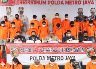 Polda Metro Jaya Tangkap 36 Tersangka Kasus Curanmor