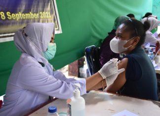 Kodam XVII/Cenderawasih Gencarkan Serbuan Vaksinasi Covid-19 di Papua
