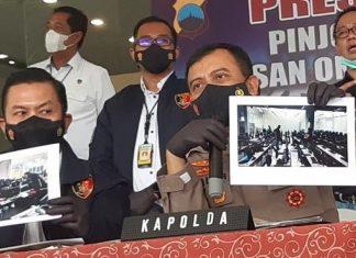 Sebar Konten Asusila, Debt Collector Pinjol Dibekuk Polisi