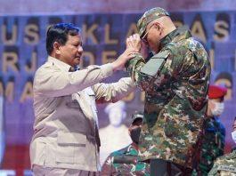 Prabowo Subianto dan Deddy Corbuzier